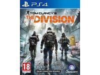 Tom Clancy's, The Divison PS4