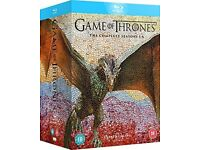 Wanted Game of thrones season 1-6 on Blu ray