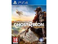 TOM CLANCY GHOST RECON WILDLANDS PS4 BRAND NEW AND SEALED!