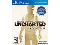 Unxharted Nathan drake collection PS4