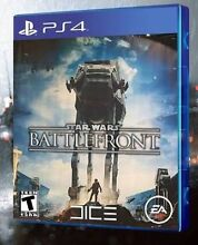 Star Wars battlefront - PS4 - Near new. Holroyd Parramatta Area Preview