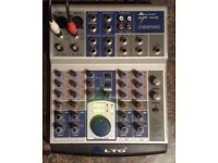 Alto AMX-100 audio mixer with digital effcts