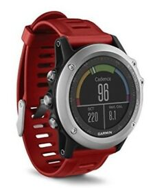 Garmin Fenix 3 GPS Multisport Watch with Outdoor Navigation - Silver.