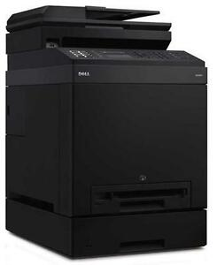 Dell 2155CDN Color Laser Printer with secondary tray