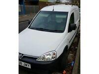 Vauxhall combo van White 1700 cdti in very good condition