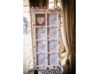 Wedding doorframe table plan ideal for wedding seating plans