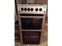 Beko 50cm free standing gas cooked