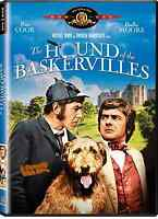 Hound of the Baskervilles. Peter Cook et Dudley Moore. DVD.