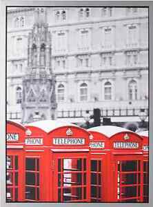 """London - Ready-to-Hang - 30 ¼ x 22 ½ """" - $30 Brand New"""