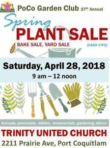 "BIG Plant Sale & ""Smaller"" Garage Sale"