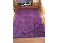 Ikea purple rug