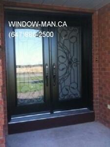 Iron Front Door Wrought  Installation