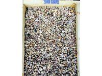 20mm Washed Gravel, £42.00 Per Bulk Bag or £3.00 per 25kg bag.