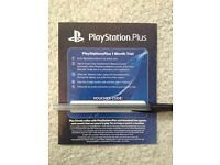 1 month Playstation Plus CHEAPEST ON GUMTREE