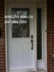 Door Front Entry OneSideLight  Supply Install