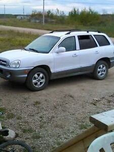 2005 Hyundai Santa Fe TAKE AS IS