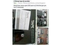 For sale Reloop tape Dj Recorder