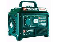 Generator- Portable Inverter Technology Generator 1200w 4 stroke Camping Boating Emergency Supply