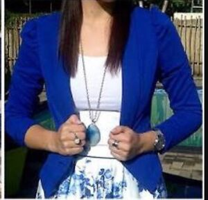 Forever New blue Jacket Mount Lawley Stirling Area Preview