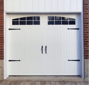 8x7 INSULATED CARRIAGE GARAGE DOORS....... $850 INSTALLED