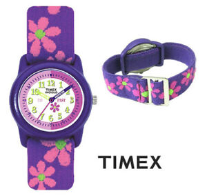 ►TIMEX - Youth Flowers Stretch Band Watch (NEW)