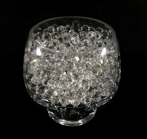 Clear Water beads, perfect for weddings