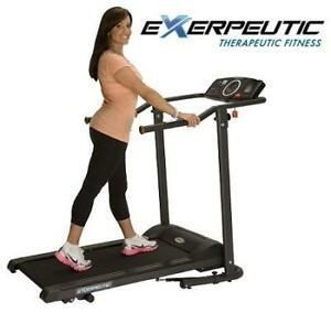 NEW EXERPEUTIC WALKING TREADMILL 1020 143350109 HEAVY DUTY W/ WIDE BELT FITNESS EXERCISE  EQUIPMENT MACHINE WORKOUT T...