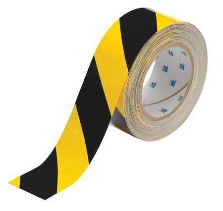 BRADY 104317 Floor Marking Tape,Roll,2In W,100 ft. L