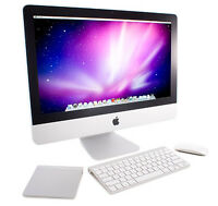 Imac core i3  fully functional missing front plastic frame 450$