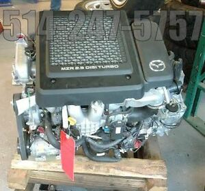 MOTEUR MAZDA 2.3 TURBO CX7 & SPEED  2006 a 2011