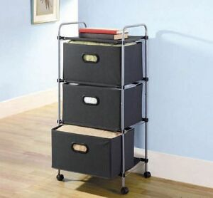 Rolling Black Drawers (Still Available)