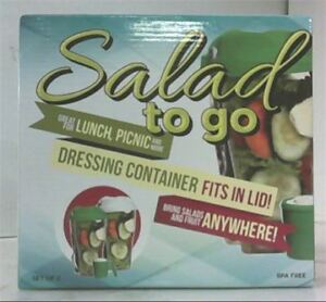 NEW ~ SALAD TO GO ~ Set of 2