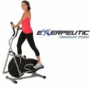 NEW EXERPEUTIC AIR ELLIPTICAL EXERCISE EQUIPMENT FITNESS WORK OUT WORKOUT 74563945