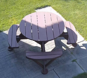 Hand Crafted Picnic Table for Sale