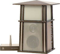New - ACOUSTIC RESEARCH OUTDOOR LAMP & WIRELESS SPEAKER !