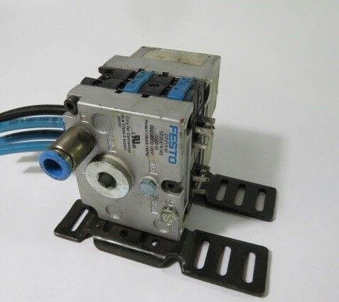 Festo CPV10-VI Pneumatic Assembly with 161415  USED