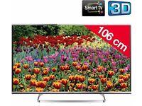 "Great 42"" PANASONIC VIERA LED 3D SMART TV full hd ready 1080p freeview"