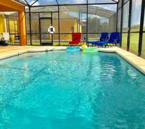 Luxurious viola with a pool on Orlando