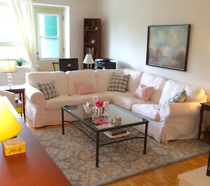 Large sun filled Westmount apartment- Lease Transfer (Westmount)