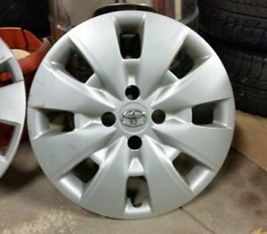 Original Toyota wheel covers 15 in.