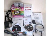 Canon PowerShot S30 Camera Kit & Extras