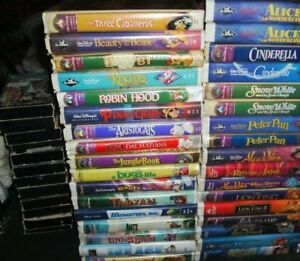Disney & other Kids VHS Classic Movies Many hard to find 10/$10
