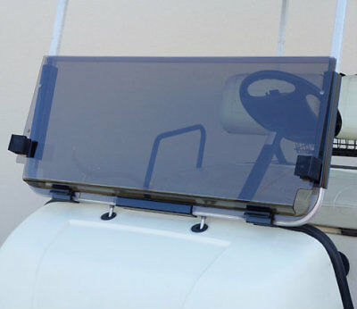 CLUB CAR DS FOLDABLE GOLF CART WINDSHIELD 1982-2000.5 // TINTED