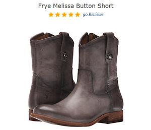 *NEW* FRYEMelissa Buttoned Short Boots 7M