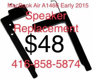 Apple MacBook Air A1466 Early 2015 Speaker Replacement
