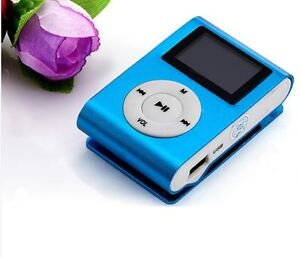 Mini MP3 Player with Screen and Retail Box