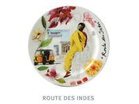 crockery set Gien 'route des indes' rrp: 770gbp