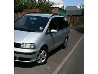 2003 SEAT ALHAMBRA SE 1.9 TDI 130 PD 7 SEATER MPV 6 SPEED