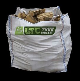 Logs for Sale Wigan - £110 for Two 250KG Bags - Kiln & Dried Logs FREE Delivery in Wigan
