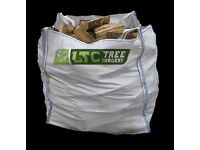 Logs for Sale Wigan - £100 for Two 250KG Bags - Kiln & Dried Logs FREE Delivery in Wigan